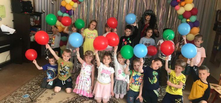 Развлечение для воспитанников в честь Дня Защиты детей.